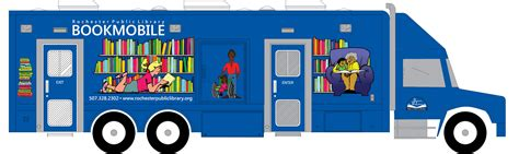 mobile book new bookmobile rochpublibrary