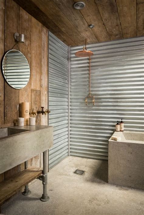 33 industrial bathroom decor ideas comfydwelling com 41 concrete bathroom design ideas to inspire you rustic