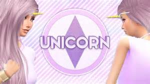 the sims 4 create a sim unicorn 176 viyoutube