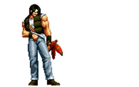 Imagenes Gif King Of Fighter | ralf jones king of fighters animations