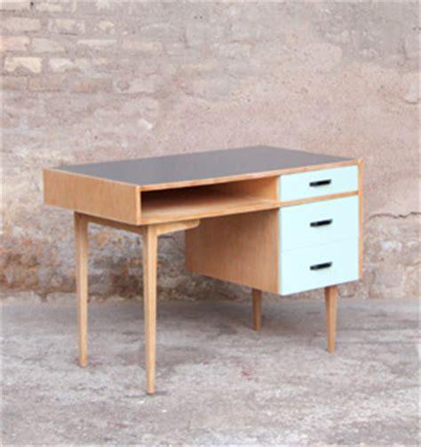 bureau d 馗olier vintage bureau vintage tiroirs vert d eau