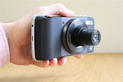 hasselblad made a phone attachment that adds raw and 10x