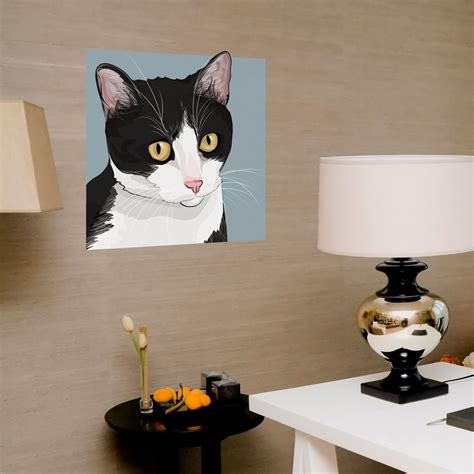 cat wall stickers looking cat wall decals home design 922