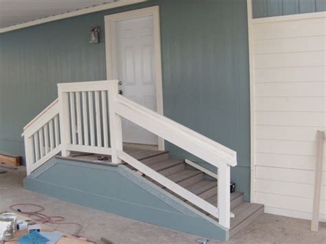mobile home building in san diego county stairs
