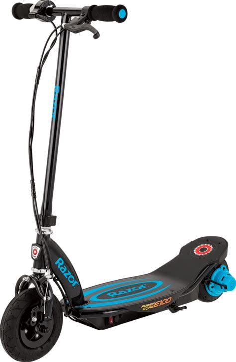 light blue electric scooter products razor