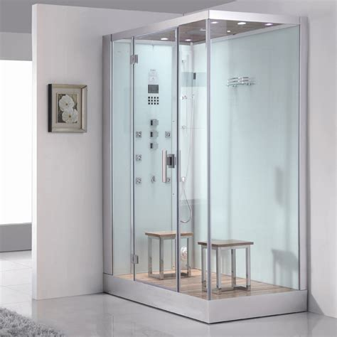 Bathroom Steam Shower Ariel Platinum Dz961f8w White Left Steam Shower Ariel Bath