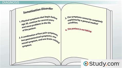Somatoform Disorder Study by Study On Somatoform Disorder