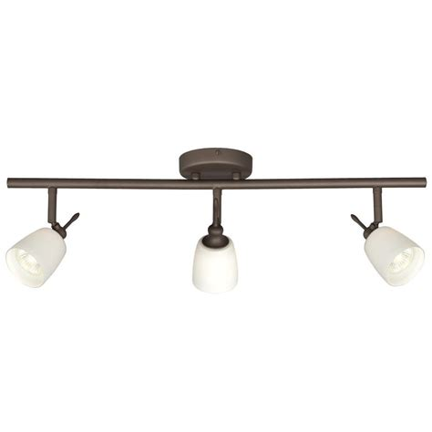 oil rubbed bronze 4 light track lighting ceiling or wall filament design negron 3 light oil rubbed bronze track