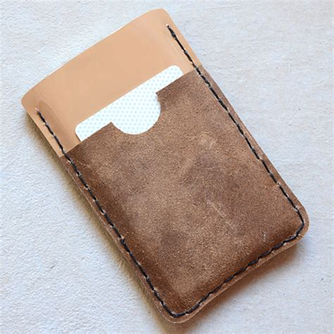 Handmade Wallet Tutorial - leather iphone tutorial sewtorial