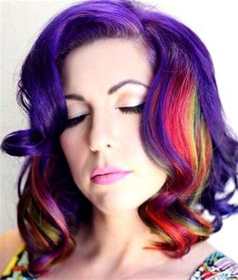 colorful short haircut color for short haircuts short hairstyles 2016 2017