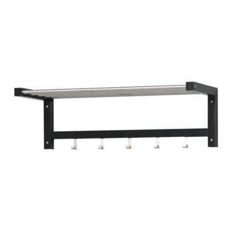 ikea rack tjusig hat rack black ikea