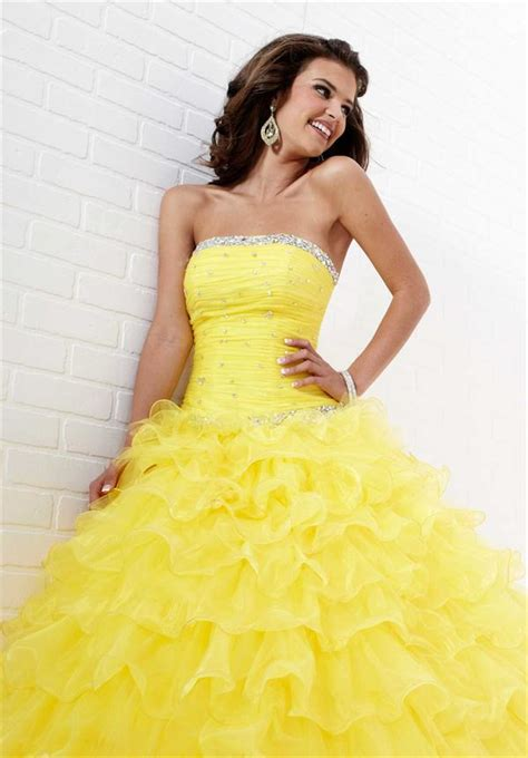quinceanera themes yellow beauty and the beast quinceanera dresses tiffany