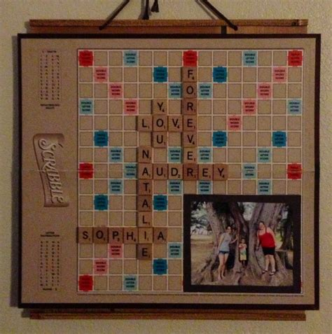 things to make with scrabble tiles scrabble board with tiles and pictures things i ve