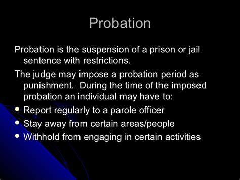 Suspended Sentence Criminal Record Canada Types Of Court Ordered In Canada