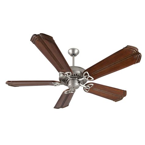 american made ceiling fans american tradition brushed nickel ceiling fan with 56 inch