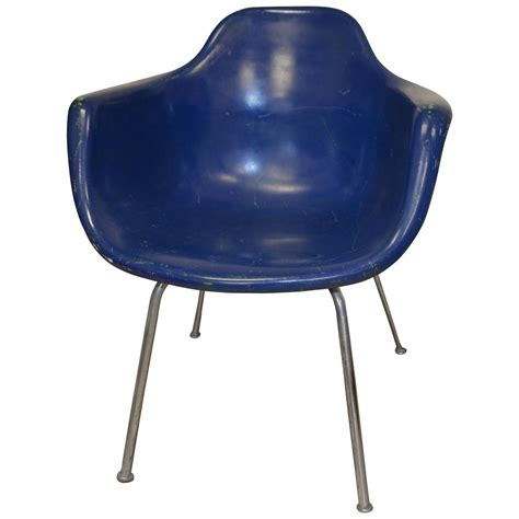 Krueger Chairs by Midcentury Miller Eames Era Fiberglass Shell Chair By