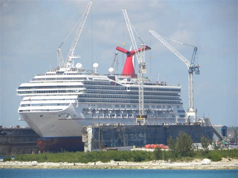 cruises in dry dock photo of carnival sunshine cruise on apr 27 2014