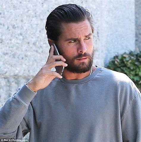 Disick Hairstyle by Disick Sports Slicked Back Hair As He Makes Flashy
