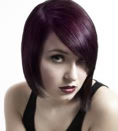violet black hair color purple hair color trend