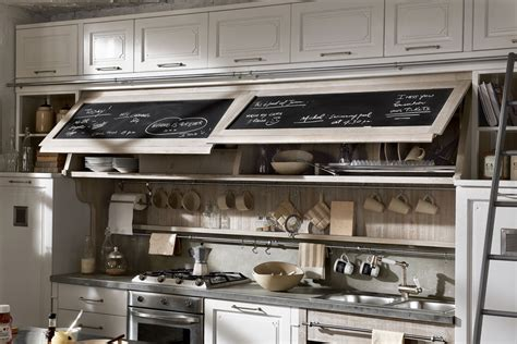 Black Appliances Kitchen Design by Vintage And Industrial Style Kitchens By Marchi Group
