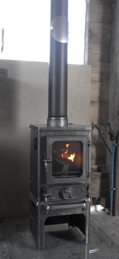 Wood Stove For Shed by Instaling A Stove In A Shed