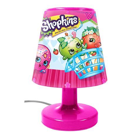 kinder schlafzimmerbeleuchtung shopkins nachttischle licht offiziell kinder