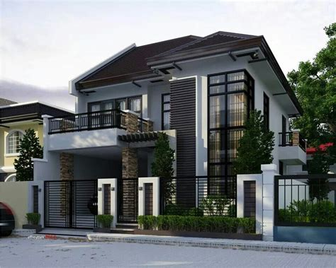 small 2 storey house plans pinteres two storey modern house brighter color perhaps dom