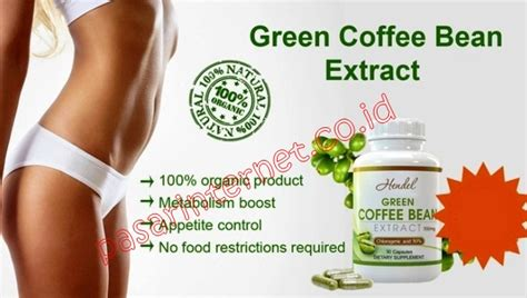 Green Cofee Herbal hendel green coffee bean extract toko herbal
