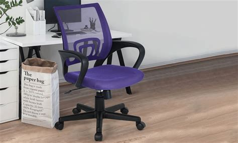 sedie x scrivania sedia per scrivania groupon goods
