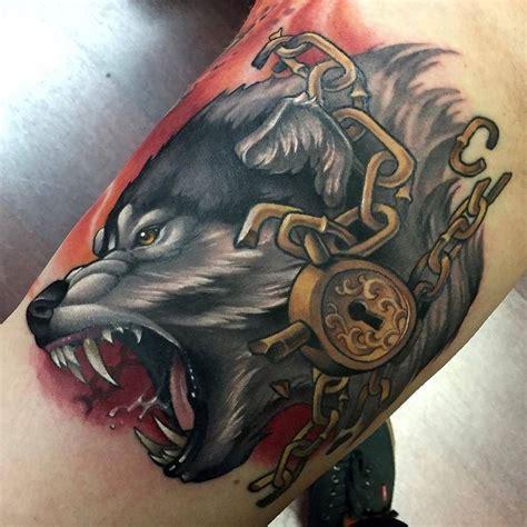 fenrir tattoo die besten 25 fenrir ideen auf asatru