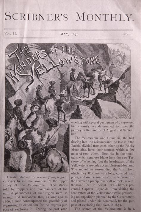 historical articles and illustrations 187 yellowstone s photo collection