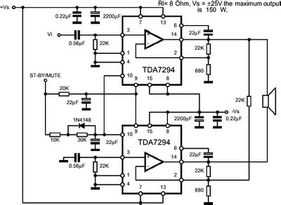 Tda7294 Lifier Circuit Diagram Pdf