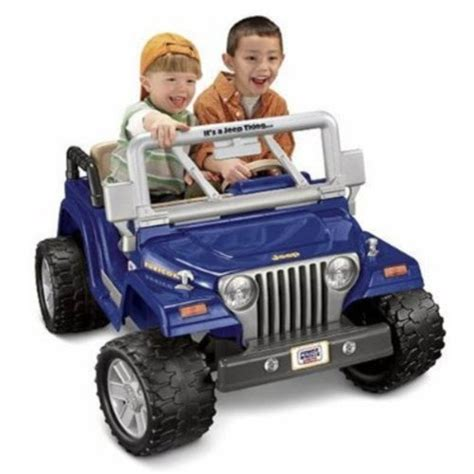 toy jeep for kids fisher price power wheels jeep wrangler rubicon ride on