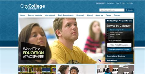 templates for college website in asp net city college by chimpstudio themeforest