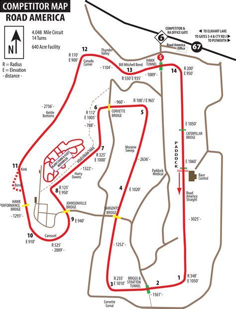 america road map pdf track guide road america winding road