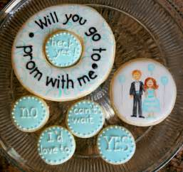 Creative prom asking ideas how to ask to prom cookies
