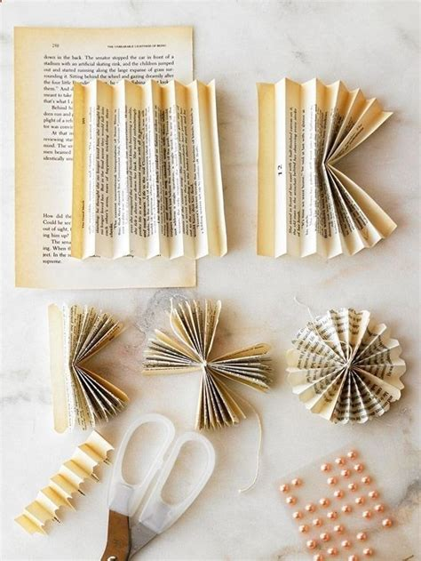 How To Make Book Paper Flowers - diy book page flowers how to stuff
