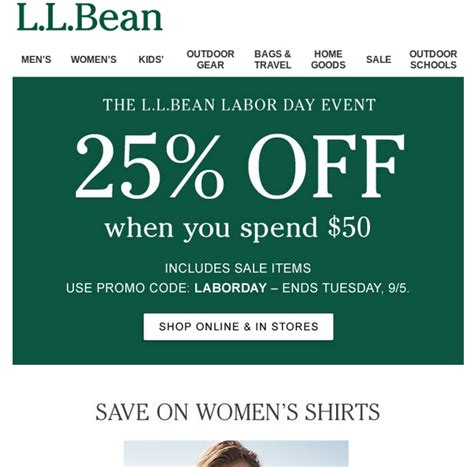 Ll Bean Promotional Gift Card Code - 10 off l l bean coupon code 2017 l l bean code dealspotr