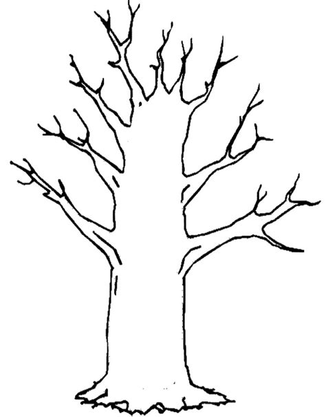 Tree Trunk Coloring Page Coloring Pages Tree Trunk Coloring Page
