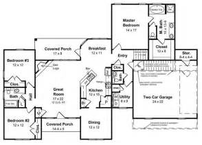 gallery for gt ranch style floor plans with basement