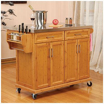 large kitchen island on wheels big lots cart at macy s for pin by jennifer rosania on great ideas pinterest