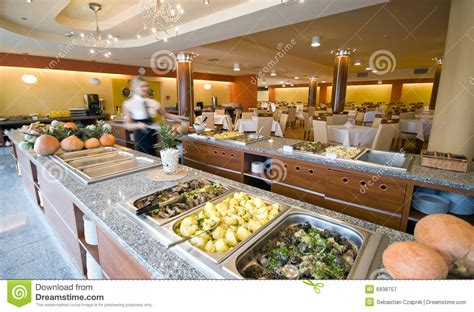 suites buffet buffet in hotel dining room stock image image 6938757