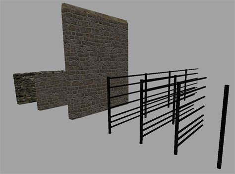 stone wall  fence pack ls farming simulator   mod