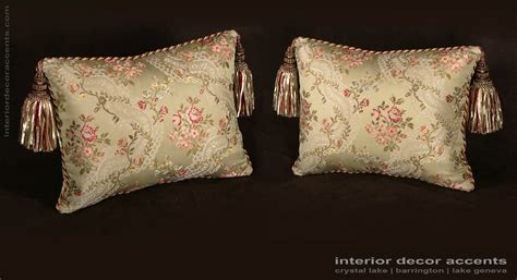 Designer Pillows by Custom Design Pillows Jofa Silk Las In