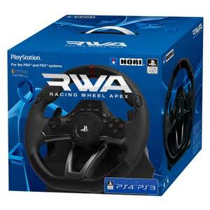 Hori Steering Wheel Ps4 Compatible Hori Racing Wheel Apex For Ps4 Ps3 And Pc Now Available