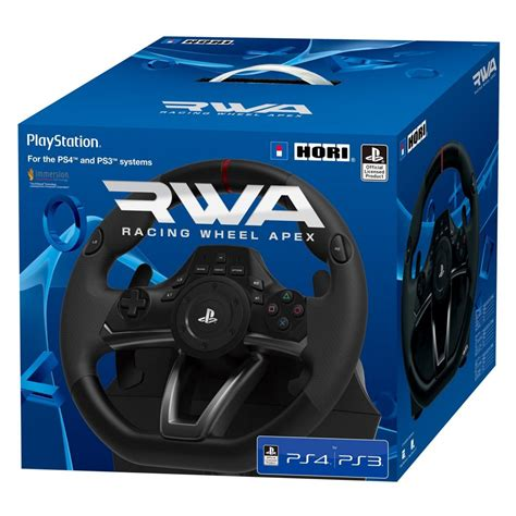 volante ps4 hori racing wheel apex for ps4 ps3 and pc now available