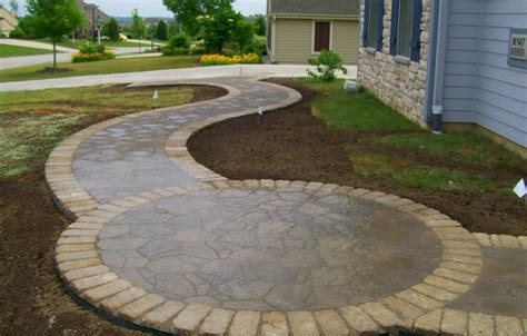 Circular Patio Designs Pin Circular Patio Ideas Outdoor Wallpapers Pictures On Pinterest