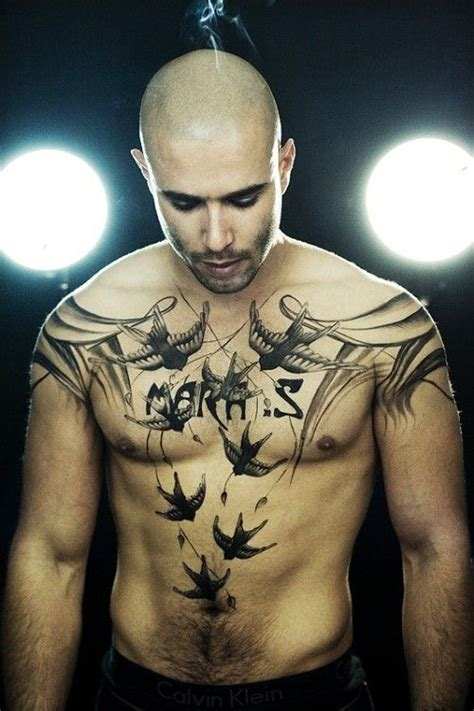 chest tattoos for men men s tattoo ideas