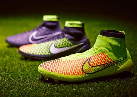 all football shoes nike adapts flyknit technology to launch knitted football boot