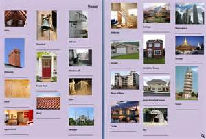 picture dictionary houses
